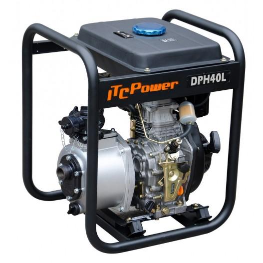 DPH40L Motobomba diésel Alta Presión ITCPower