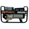 KW220DC-3 Motosoldadora Gasolina con alternador LINZ