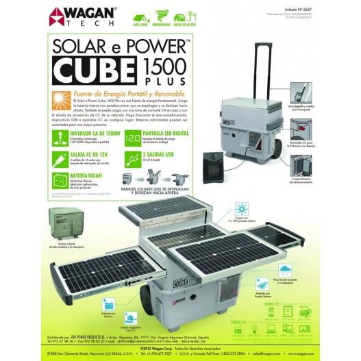 E-POWER 1500 Generador solar 1500w...