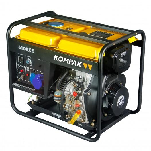 Generador electrico Kompak K6100XE...