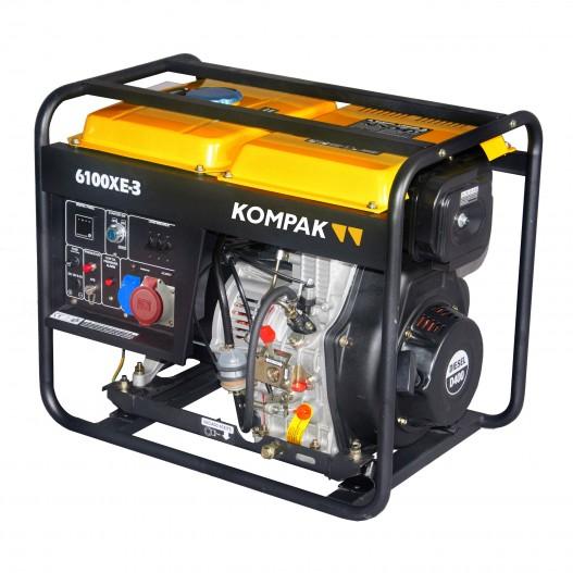 Generador electrico Kompak K6100XE-3...