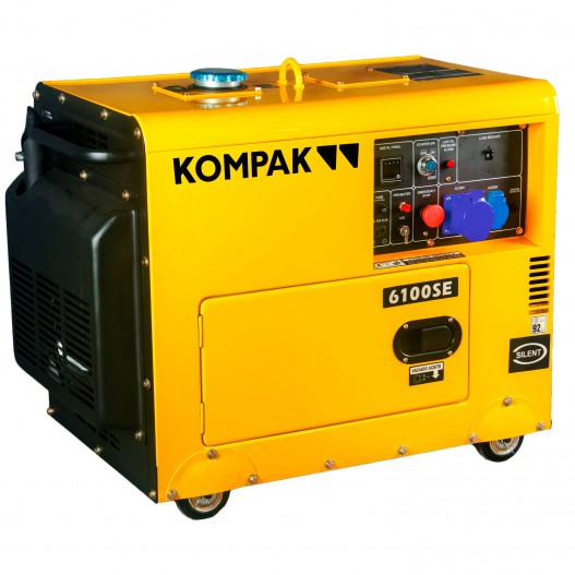Generador electrico Kompak K6100SE...