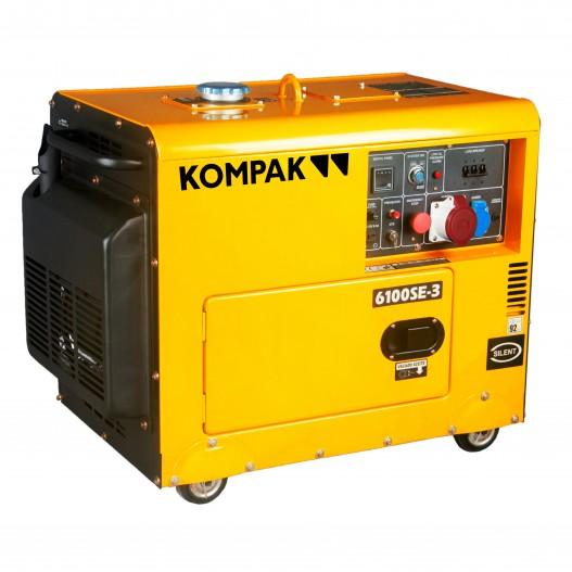 Generador electrico Kompak K6100SE-3...