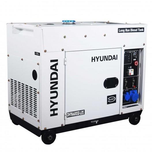 DHY6600SE-LRS Generador Diésel para Instalación Solar Hyundai