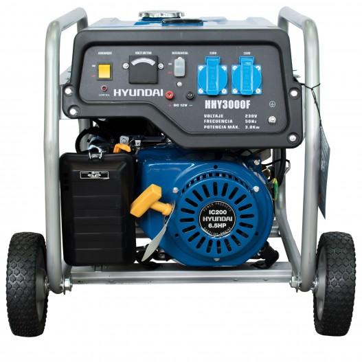 HHY3000FK Generador Gasolina Monofásico con ruedas