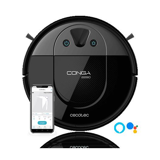 Conga 2290 Panoramic Robot aspirador mapeo con cámara Cecotec