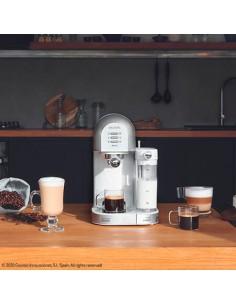 Power Instant-ccino 20 Chic Serie Bianca Cafetera espresso y cápsulas semiautomática Cecotec