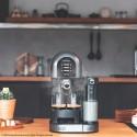 Power Instant-ccino 20 Chic Serie Nera Cafetera espresso y cápsulas semiautomática Cecotec