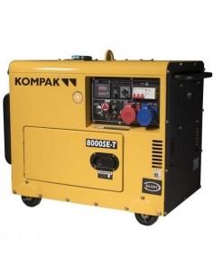 Generador eléctrico diésel...